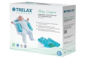 Фото 6362: Ортопедическая детская  подушка-конструктор TRELAX Baby Comfort арт. П10