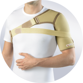 Фото 8: Бандаж на плечевой сустав ORTO ASL 206 (левый)