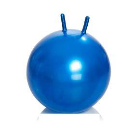 Фото 9807: Гимнастический мяч детский (фитбол) с рожками, диаметр 65 см, Тривес М-365