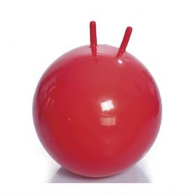 Фото 4630: Гимнастический мяч детский (фитбол) с рожками, диаметр 55 см, Тривес М-355