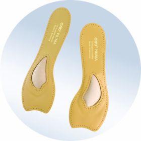Фото 9304: Ортопедические укороченные  стельки для обуви с каблуком от 5 см ORTO PRIMA