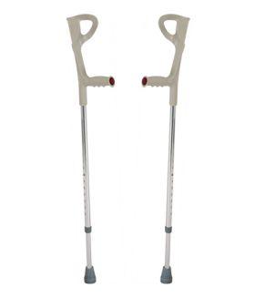 Фото 893: Костыли инвалидные с опорой под локоть (канадки) BRONIGEN BCC