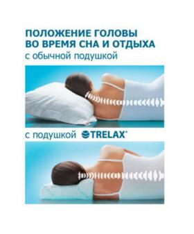 Фото 1030: Ортопедическая подушка под голову TRELAX Optima П01