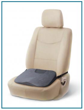 Фото 7664: Ортопедическая подушка с откосом на сиденье TRELAX SPECTRA SEAT П17