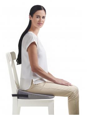 Фото 7685: Ортопедическая подушка с откосом на сиденье TRELAX SPECTRA SEAT П17